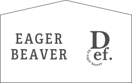 DEF by eager beaver WEB STORE