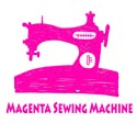 magenta sewing machine