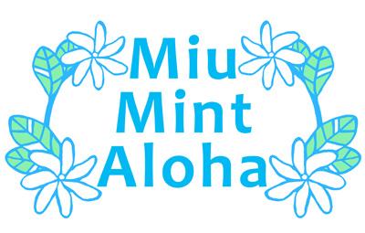 ハワイアンキルトMiu-Mint-Aloha