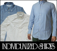 INDIVIDUALIZED SHIRTS����ǥ��ӥ��奢�饤���ɥ����