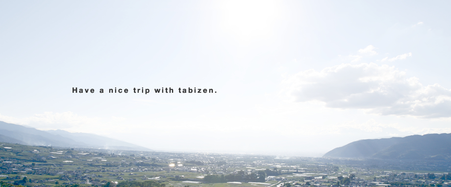 Have a nice trip with tabizen.