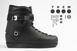 THEM 909 BK Boots <img class='new_mark_img2' src='https://img.shop-pro.jp/img/new/icons7.gif' style='border:none;display:inline;margin:0px;padding:0px;width:auto;' />