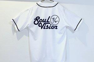 Bauhaus style baseball shirt WH <img class='new_mark_img2' src='https://img.shop-pro.jp/img/new/icons57.gif' style='border:none;display:inline;margin:0px;padding:0px;width:auto;' />