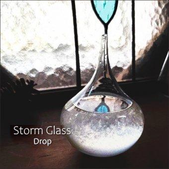 _ストームグラス<しずく>結晶の変化を楽しむサイエンスインテリア(気象予報計)