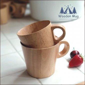 _キャンプやおうちカフェに!木の温かみが優しい木製マグカップ