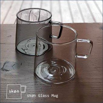 _理系なガラスのマグカップ!耐熱・レンジOK!SkønGlassMug