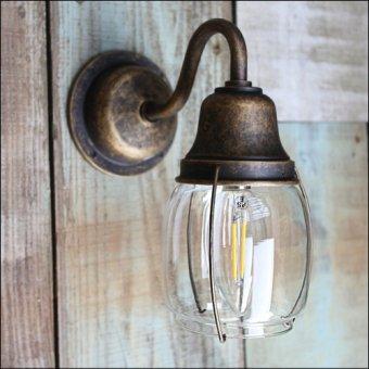 >真鍮製マリンウォールランプ(防滴ブラケット)BR1720古色ポーチライト