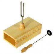 ウィットナー Wittner 共鳴箱付き音叉(チューニング・フォーク) 【924RA】 A=440Hz ハンマー付き