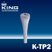 キング : マーチング トランペットマウスピース K-TP2