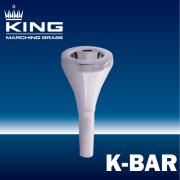 キング : マーチング バリトンマウスピース K-BAR