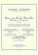 アルフォンス : 旋律的・斬進的な新しい200のホルン練習曲 2巻