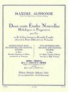 アルフォンス : 旋律的・斬進的な新しい200のホルン練習曲