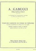 ガブッチ : 26の前奏曲形式によるカデンツ