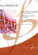 クレプシュ : 416の漸新的練習曲 第3巻 40の練習課題、転調