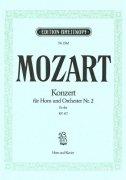 モーツァルト : ホルン協奏曲 第二番