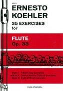 ケーラー : 35の練習曲 作品33 第二巻 15の中程度の練習曲