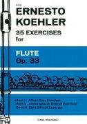 ケーラー : 35の練習曲 作品33 第一巻 15の易しい練習曲