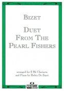 ビゼー : 真珠取り クラリネットデュオとピアノのための