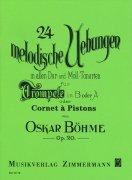 ベーメ : 24の旋律的練習曲