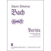 バッハ : 無伴奏オーボエのためのパルティータ ト短調 BWV1013
