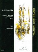 サンジュレ : 協奏的大四重奏曲 作品.79