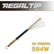 リーガルティップ : ワイヤーブラシ 収納式 エド・ジグペンモデル 584W