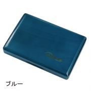 ヴィヴァーチェ : 木製リードケース テナーサックス / バスクラリネット用 6枚収納  ブルー