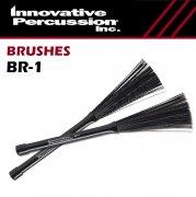 イノベイティブ・パーカッション : 収納式 ナイロンブラシ ライト BR-1