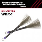 イノベイティブ・パーカッション : 収納式 ワイヤーブラシ ミディアム WBR-1