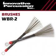 イノベイティブ・パーカッション : 収納式 ワイヤーブラシ ヘビー WBR-2