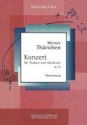 ヴェルナー・テーリヒェン : ティンパニ協奏曲 作品34