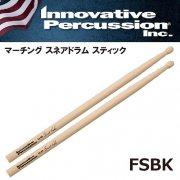 イノベイティブ・パーカッション : マーチング スネアドラム スティック FSBK ブレット・クーンモデル