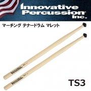 イノベイティブ・パーカッション : マーチング テナードラム マレット TS3 スティック フィールドモデル