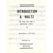 ミッチェル・ペータース : 序奏とワルツ(タムタム、サスペンドシンバル) トライ出版