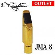 【訳アリ特価】<br>ルソー : アルトサクソフォン用マウスピース ジャズメタル JMA8