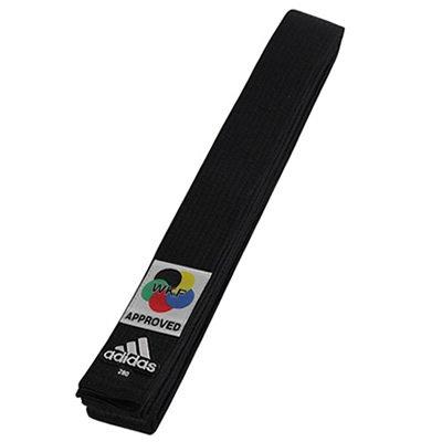 アディダス adidas エリート WKF公認 空手 黒帯