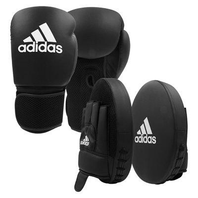 アディダス adidas ボクシンググローブ&ミットセット 大人用