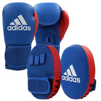 アディダス adidas ボクシンググローブ&ミットセット ジュニア用