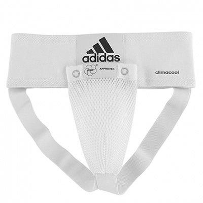 アディダス(adidas) WKF公認グローインガード (男性用)ホワイト