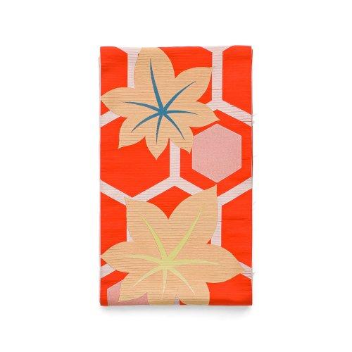 夏袋帯●亀甲に楓のサムネイル画像