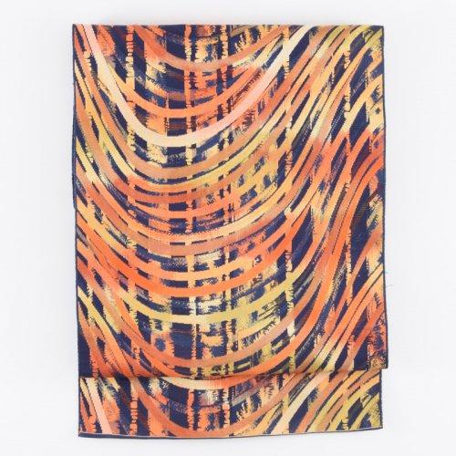 紺地 リズミカルな曲線 八寸名古屋のサムネイル画像