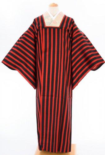 雨ゴート 赤×黒の縞のサムネイル画像