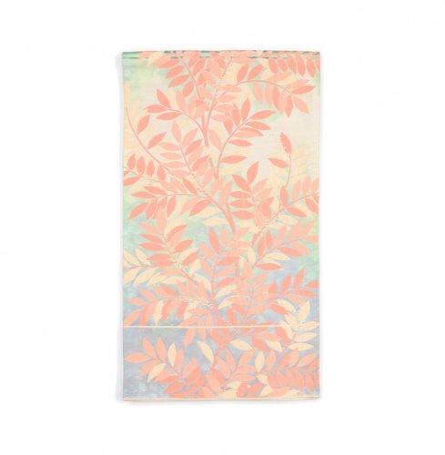 袋帯●パステルカラー 葉と実のサムネイル画像