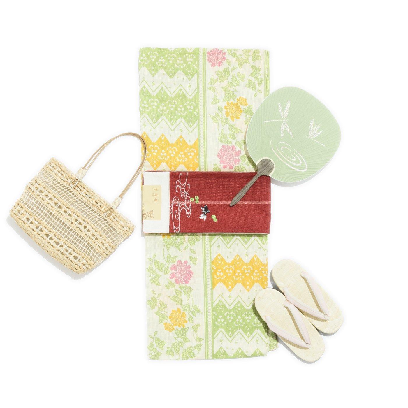 「新品浴衣 薔薇の花」の商品画像