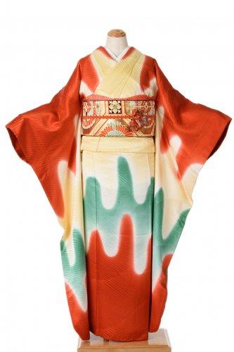 振袖 三色の壺垂れのサムネイル画像