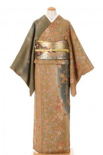 4点セット*総柄訪問着 菊・桜・萩 スワトウ刺繍袋帯のサムネイル画像