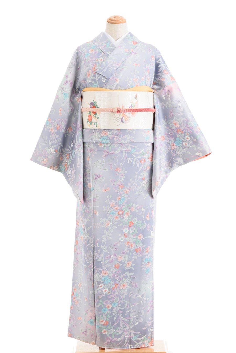 「菫色の暈しに菊や桜」の商品画像