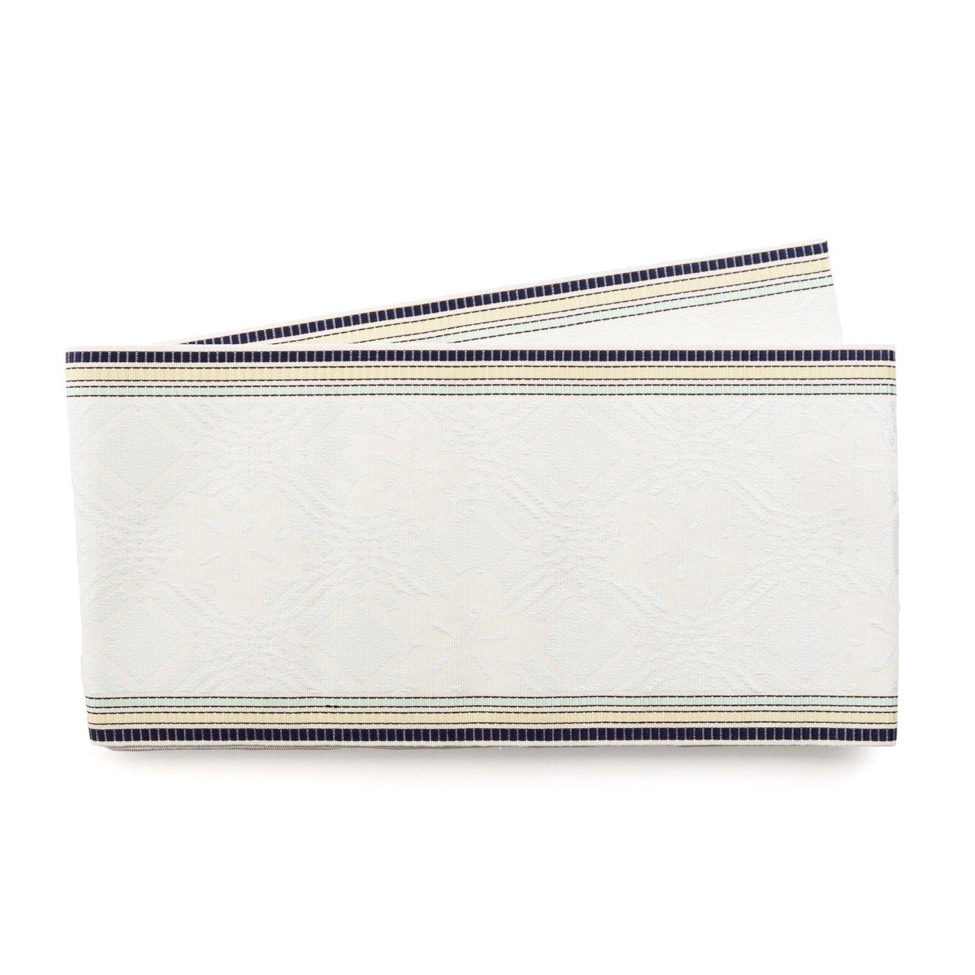 「博多小袋帯 桜 白」の商品画像
