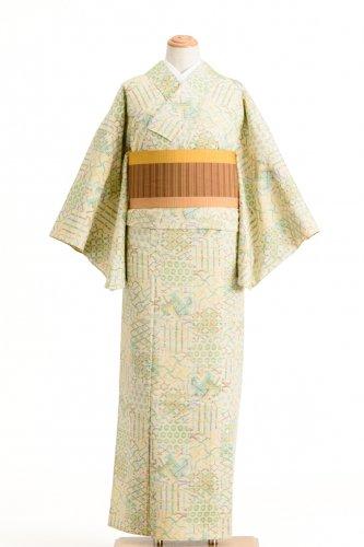 単衣 紬 鹿の子 青海波 七宝などのサムネイル画像