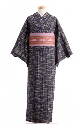 単衣 紬 縞と霞のサムネイル画像